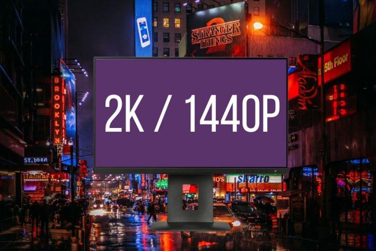 Mejores Monitores 2K a 1440p del 2021